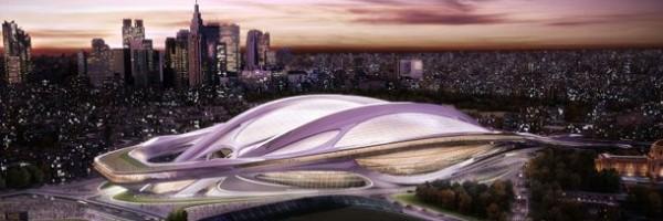 Projeto do novo Estádio Nacional do Japão