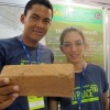 Jovens pernambucanos criam tijolo de bagaço de cana