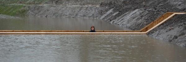 Uma ponte submersa!