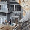 Casa sustentável construída em caverna