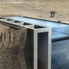 Arquitetura inovadora: Casa construída em penhasco