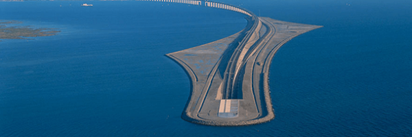 Ponte de Øresund, a maior ponte rodoferroviária da Europa