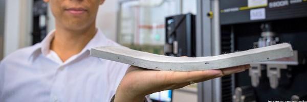 Concreto Flexível é duas vezes mais resistente que o convencional