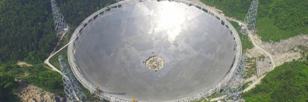 O maior radiotelescópio do mundo!