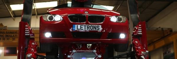 Empresa recria BMW para virar Transformer
