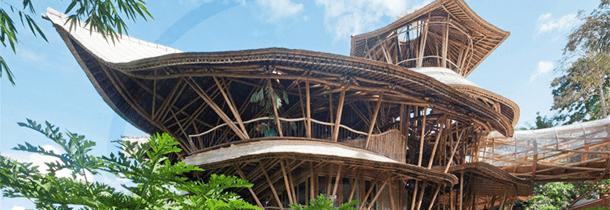 paraso sustentvel conhea a casa construda com bambu